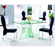 dining chairs glass dining table