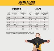 Five Fingers Size Conversion Chart 40 Detailed Vibram Shoes Sizing Chart