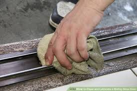 image titled clean and lubricate a sliding glass door step 10