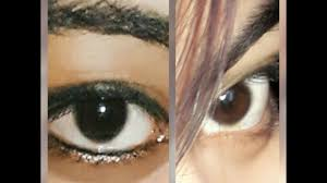 Dark Brown To Light Brown Eyes My Eye Color Changing Journey Day 5 From Dark Brown To