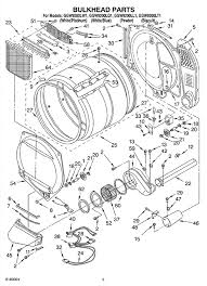 hi i have a whirlpool duet gas dryer that does not heat the thermal fuse is part 59 on this schematic if you look behind the blower housing from the right you will see the fuse