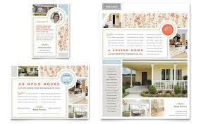 Real Estate Home For Sale Flyer Ad Template Design