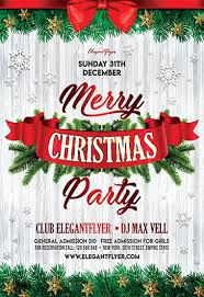 Work Christmas Party Flyers Free Christmas Flyer Templates In Psd By Elegantflyer