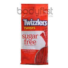 hershey s twizzlers twists strawberry sugar free 141g