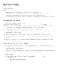 Example Of Resume For Nurses Best of New Grad Rn Resume Examples Sample Resume New Resume Sample Nursing