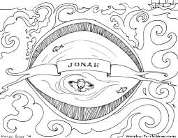 Jonah Bible Coloring Page Ministry To Children