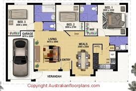 3 bedroom home design plans. Exquisite Bedroom On 3 Modern House Design Barrowdems Home Plans B