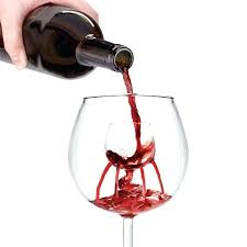 aerating wine glasses glass as is poured into this unique uk