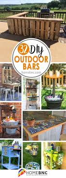 32 diy outdoor bar ideas to make your patio sing