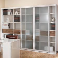 oppein hot frosted glass door wooden book cabinet sg21107a252