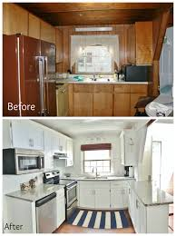 A Frame Kitchen A Frame Kitchen Remodel Refaced The Cabinets By Adding Trim And
