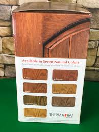 Therma Tru Doors Same Day Stain Fiberglass Door Finishing Kit Mahogany No Cd