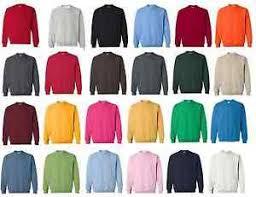 Details About Gildan Heavy Blend Crewneck Sweatshirt Jumper 18000 Size S 2xl 30 Colors
