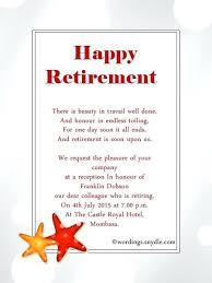 Unique Farewell Party Invitation Template Retirement Invitations
