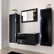 Badmöbel Sylt Schwarz Ft Badezimmer Real