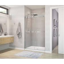 sliding shower door dimension size