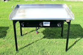 outdoor gourmet griddle flat top gas grill stove vs regular blackstone