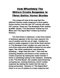 scary story short essay a scary night essay examples kibin