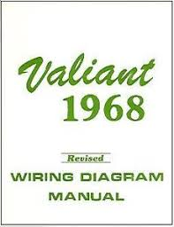 plymouth valiant wiring diagram manual image is loading 1968 68 plymouth valiant wiring diagram manual
