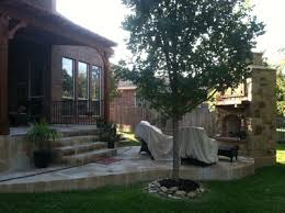 flagstone patio austin close  archadeck of austin stone patio and outdoor fireplace in rock r