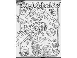 Small Picture Magic school bus Colouring Pages and Kids Colouring Activities