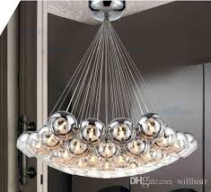 cluster pendant lighting. Modern Crystal Ball Lamps Glass Pendant Cluster Hanging Chandeliers Stair Lighting Hall Chandelier Light Designer Pendants S