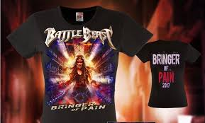 Fruit Of The Loom Lady Fit Size Chart Battle Beast Bringer Of Pain Lady Fit Shirt