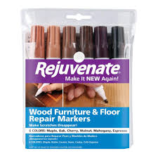 furniture touch up markers. rejuvenate wood furniture and floor repair markers touch up