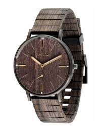 wewood ww63002 wooden wrist watch albacore black oak image 1
