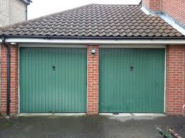 converting two single garage doors to a double