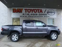 2011 Magnetic Gray Metallic Toyota Tacoma V6 TRD Sport Double Cab ...