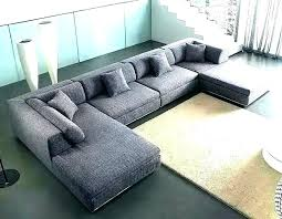 u shaped leather sectional with chaise outstanding images luxury l faux couches for s