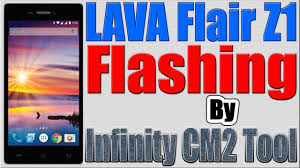 How to Flash LAVA Flair Z1 by Infinity ...