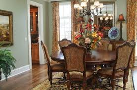 flower arrangements dining room table: simple vases with a twist traditional dining room round table fall flowers