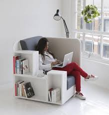 tiny apartment furniture. Invest In Dual-purpose Furniture Like This Chair That\u0027s Also A Bookcase. Tiny Apartment Bookcase