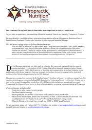 Chiropractic Resume Simple New Graduate Chiropractor Andor Functional Neurologist Andor