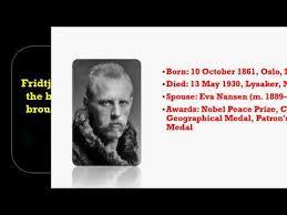 Fridtjof Nansen Quotes Beauteous Fridtjof Nansen Fridtjof Nansen Quotes Fridtjof Nansen Ship