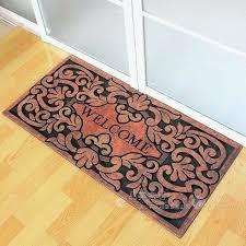 front door mats style villas large door mats doormat non slip rubber mat outside the front front door mats