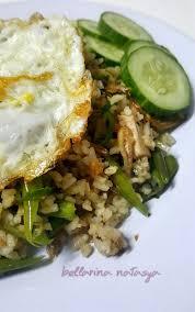 Toss until it looks even, push the rice aside. Resepi Nasi Goreng Kampung Bellarina Chillie Fried Rice Ini Adalah Bellarina Natasya