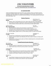 Cover Letter Sample For A Resume New Email Cover Letter Sample