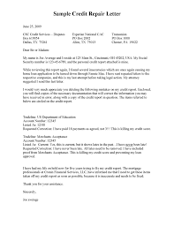 Credit Dispute Letter Templates Examples Of Credit Reports And Redit Dispute Letter Template Credit