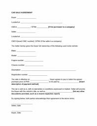 Personal Car Sale Agreement Private Car Sales Agreement Template Beconchina