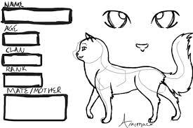 Small Picture Warrior Cat Creator Aracenae Bebo Pandco