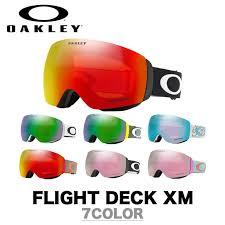 Oakley Oakley Goggle Goggles Flight Deck Xm Flightdeck Xem Asian Fit Prism Lens Prizm Lens Oo7079 01 Oo7079 06 Oo7079 07 Each Colour