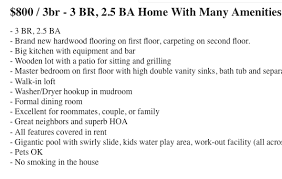 Listing Property For Rent 5 Warning Signs That A Craigslist Rental Listing Is Probably A Scam