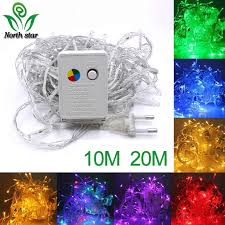 Silver Wire <b>led</b> string lights 10M 5M <b>2M</b> 1M battery fairy lights ...