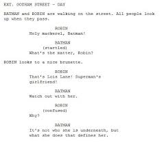 Movie Script Example How To Write A Short Movie Script Template