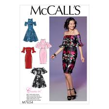 Mccalls Patterns Classy McCalls Patterns M48 Misses Miss Petite Dresses with Mixand