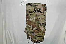 Army Ocp Size Chart Female Multicam Usgi Army Uniform Fr Flame Resistant Ocp Pants