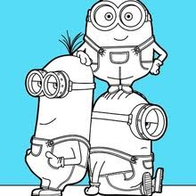 Small Picture Despicable Me Coloring Pages Online Fabulous Despicable Me